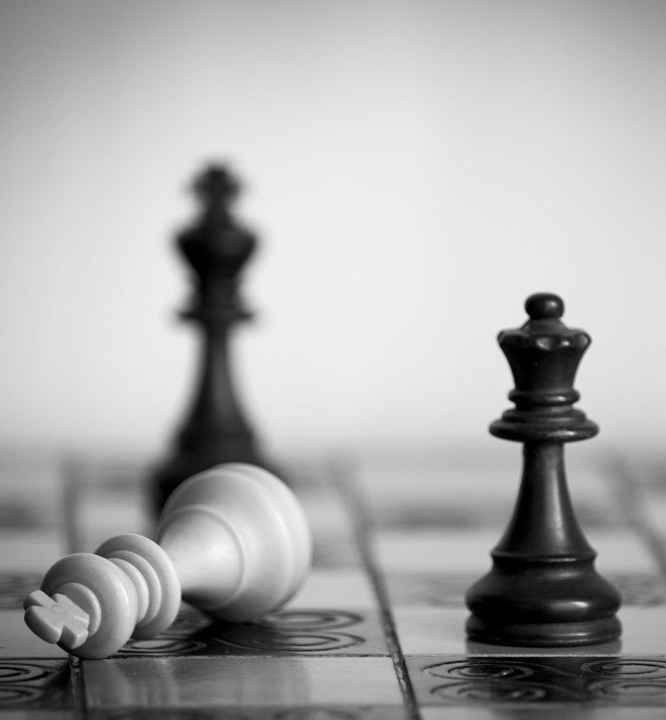 schaakmat in een schaakspel